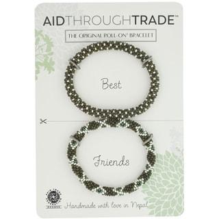 Handmade Roll-On Friendship Bracelets - Glamping (Nepal)