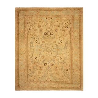 Arshs Peshawar Shonna Ivory/Blue Wool Rug (12'6 x 15'8)