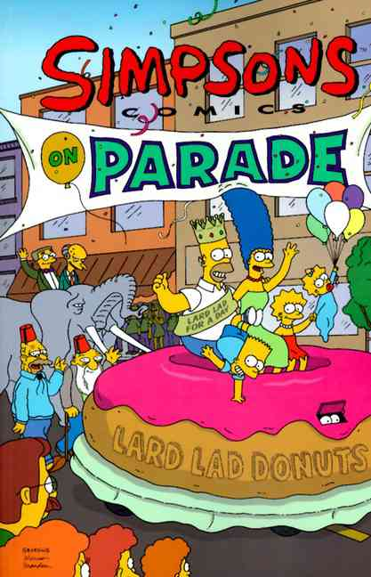 Simpsons, Comics on Parade (Paperback)