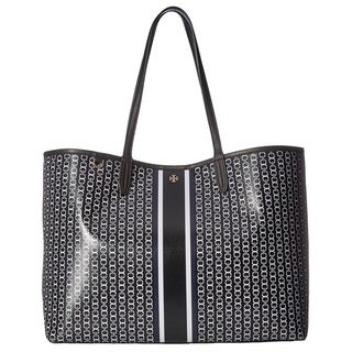 ed24e0df516 Shop Tory Burch Gemini Link Black Tote Bag - On Sale - Free Shipping Today  - Overstock - 18001581