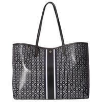 Tory Burch Gemini Link Black Tote Bag
