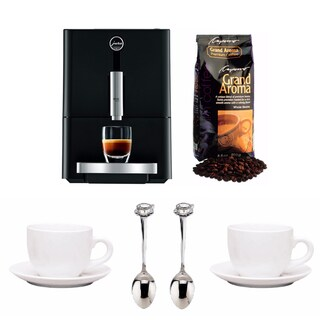 Jura ENA Micro 1 Fully Automatic Coffee Maker + Free Coffee Beans + More
