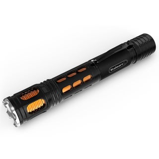 Handheld Aluminum LED Flashlight- By Stalwart (Orange)