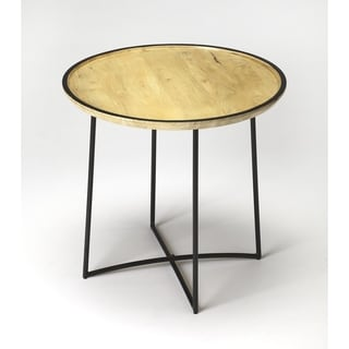Butler Brooke Iron & Wood Accent Table