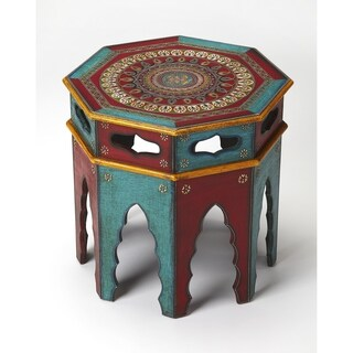 Butler Malay Hand Painted End Table