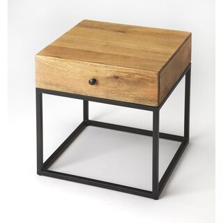 Butler Brixton Iron & Wood End Table