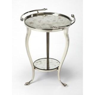 Butler Viola Metal & Mirror End Table