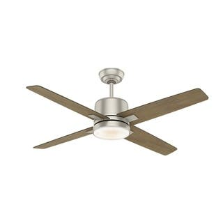 Buy casablanca ceiling fans online at overstock our best casablanca axial 52 matte nickel w 4 timber grey washed rev blds aloadofball Images