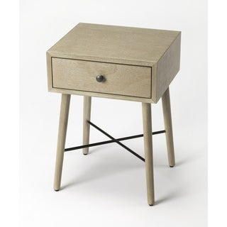 Link to Butler Delridge Gray End Table Similar Items in Living Room Furniture