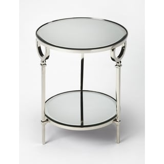 Butler Jolene Metal & Mirror End Table