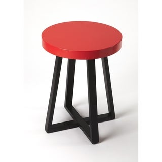 Butler Bram Red & Black End Table