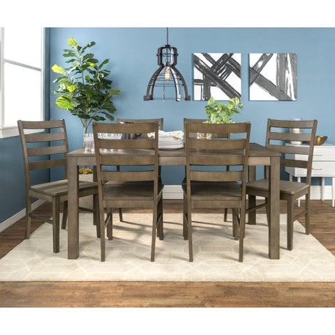 Homestead 7 Piece Wood Dining Set