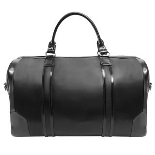 McKlein USA Kinzie Carry-All Leather Travel Duffel Deals