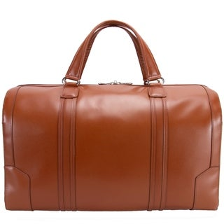 McKlein USA Kinzie Carry-All Leather Travel Duffel