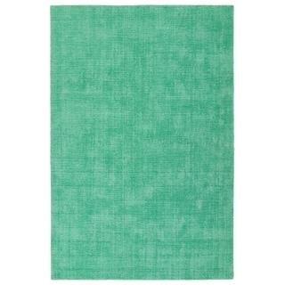 Bombay Home Tula Mint Green Polyester Indoor/Outdoor Handmade Rug (3'6 x 5'6)