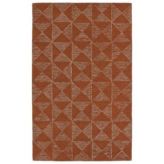 """Link to Hand-Tufted Homa Paprika Wool Rug - 3'6"""" x 5'6"""" Similar Items in Rugs"""