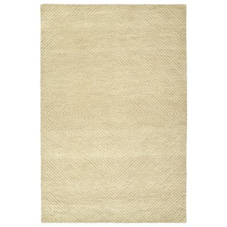 Brantley Sand Wool Hand-tufted Rug (3'6 x 5'6)
