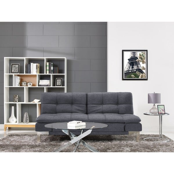 Serta Barrett Convertible Sofa By Lifestyle Solutions
