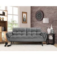 Relax A Lounger Carly Convertible Sofa by Lifestyle Solutions