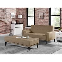 Relax A Lounger Medina Convertible Sofa with Ottoman by Lifestyle Solutions
