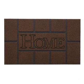 "Stephan Roberts Dunstun Stone Recycled Rubber Doormat 18"" x 30"""
