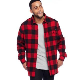 Stanley Men's Button Front Flannel Shirt