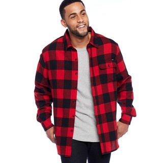 Stanley Men's Button Front Flannel Shirt|https://ak1.ostkcdn.com/images/products/18003329/P24174284.jpg?_ostk_perf_=percv&impolicy=medium