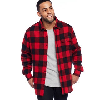 Stanley Men's Button Front Flannel Shirt