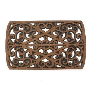 """Stephan Roberts Coconut Shell Recycled Rubber Doormat 18"""" x 30"""""""