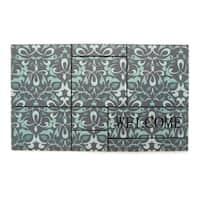 "Stephan Roberts Ferrara Recycled rubber Doormat 18"" x 30"""