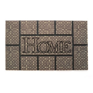 """Stephan Roberts Arezzo Recycled Rubber Doormat 18"""" x 30"""""""