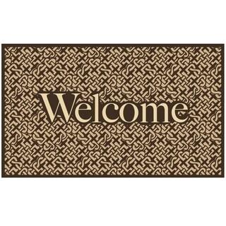 "Stephan Roberts Genoa Recycled Rubber Doormat 18"" x 30"""
