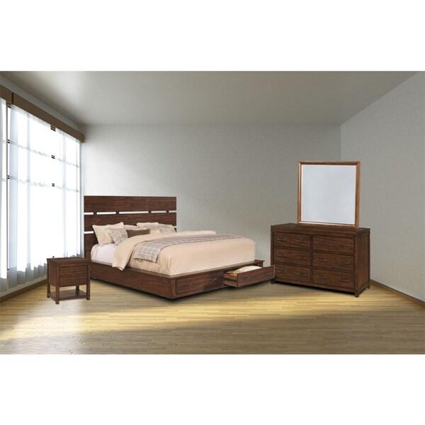 Avila 4PC Storage Bedroom Set - Free Shipping Today - Overstock.com ...