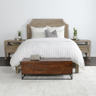 Modesto Natural Reclaimed Wood And Metal Bench Free