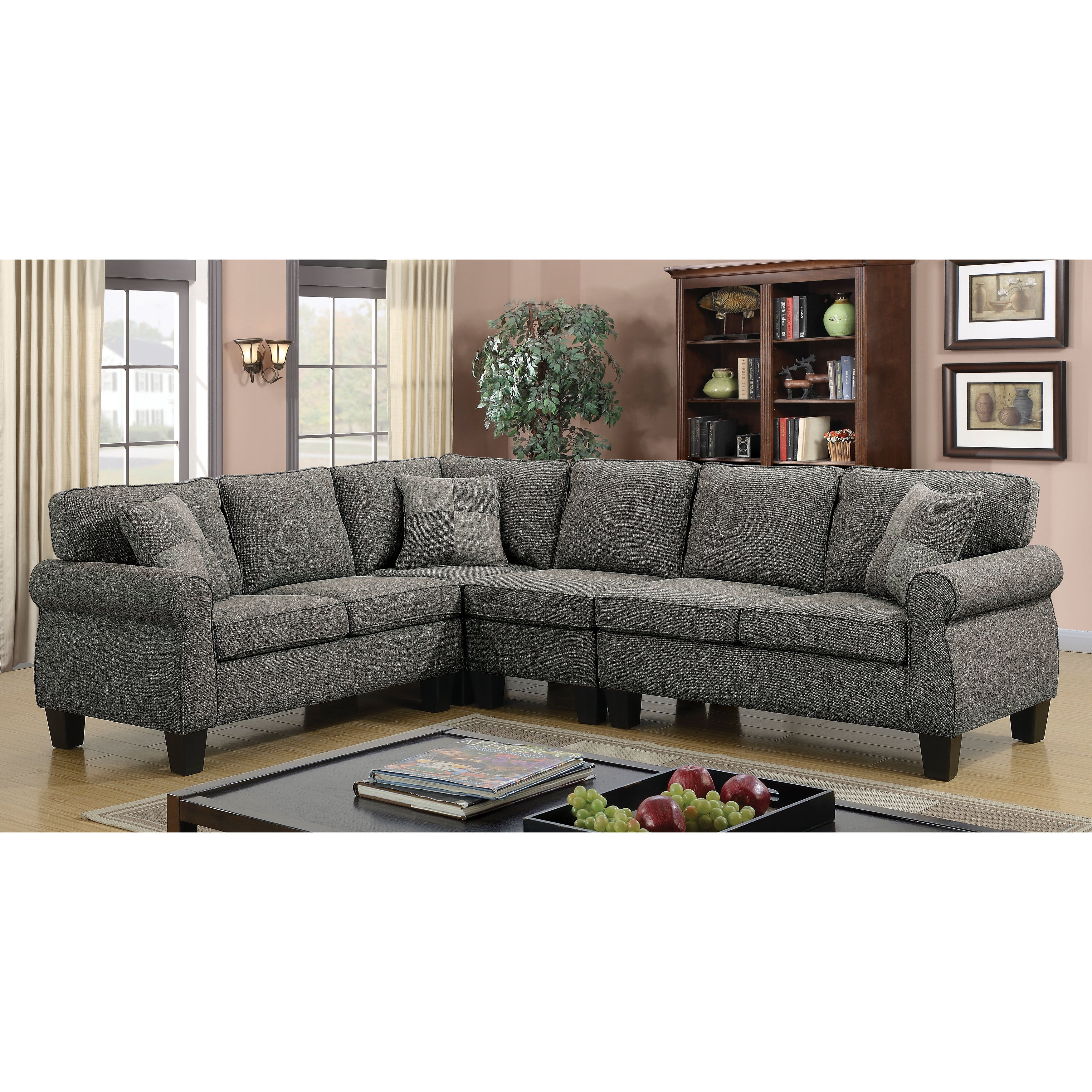Charmant Buy L Shape Sectional Sofas Online At Overstock.com   Our Best Living Room  Furniture Deals