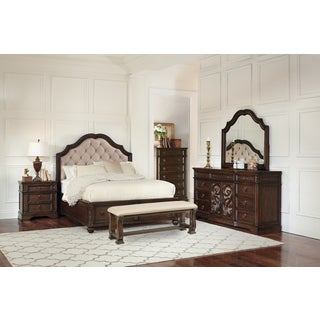 Westchester Java 7PC Storage Bedroom Set