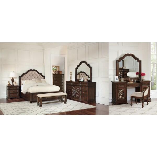 Westchester Java 10PC Storage Bedroom Set