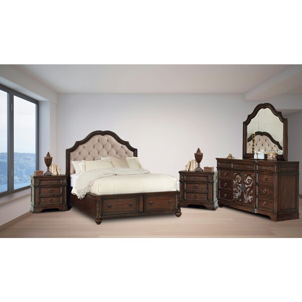 Westchester Java 5PC Storage Bedroom Set