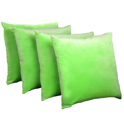 Boon Supersoft 20 Inch Decorative Throw Pillow Cover Set Of 4