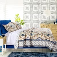 Greenland Home Monte Carlo All Cotton Quilt Set