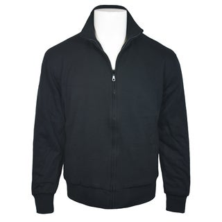 Victory Outfitters Men's Standing Collar Fleece Zip Jacket