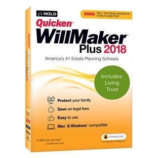 Nolo Quicken WillMaker Plus 2018 & Living Trust