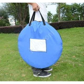 Pawhut Portable Pet Obedience Agility Dog Training Tunnel