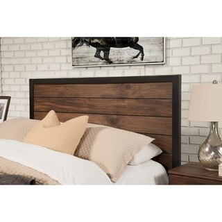 Alpine Origins Weston Pine-finish Mahogany Headboard