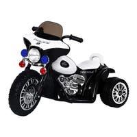 Aosom 6V Kids Ride On Police Motorcycle - White