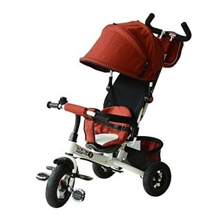 Qaba 2 in 1 Lightweight Tricycle Baby Stroller