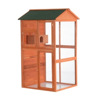 Pawhut Large Vertical Outdoor Aviary Bird Cage