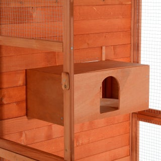 "Pawhut Large Vertical Outdoor Aviary Bird Cage - 41.75""l x 37""w x 71""h"
