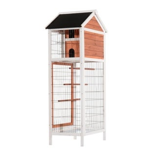 Pawhut Vertical Outdoor Aviary Bird Cage