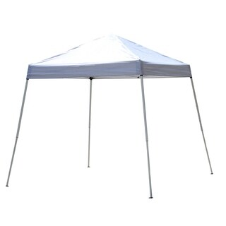 Outsunny Slant Leg Pop Up Canopy Tent